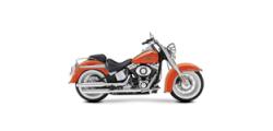 Harley Davidson Softail Deluxe - лого