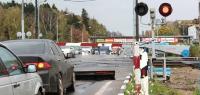 Как в Нижнем Новгороде водителей наказывают за нарушение проезда ж\д переездов