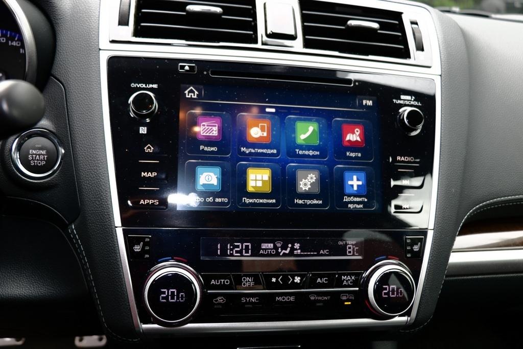 Subaru Legacy мультимедиа фото